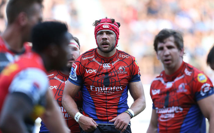 Lions captain Warren Whiteley (centre) in action during the Super Rugby match against the Stormers at Newlands on 23 February 2019. Picture: @LionsRugbyCo/Twitter