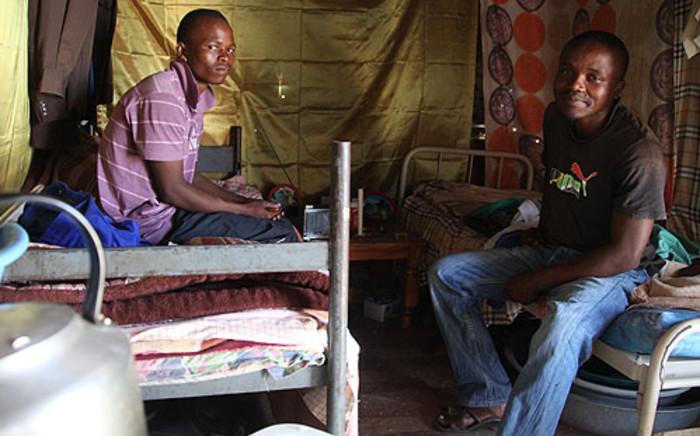 Mzukisi and Nkosilungile Goqweni said one had to pay a bribe to get employment at Lonmin's Marikana mine. Picture: Taurai Maduna/EWN.