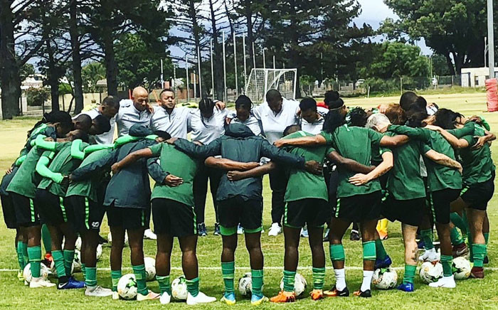 Members of the Banyana Banyana team pictured before their match against the Netherlands.Picture: @Banyana_Banyana/Twitter