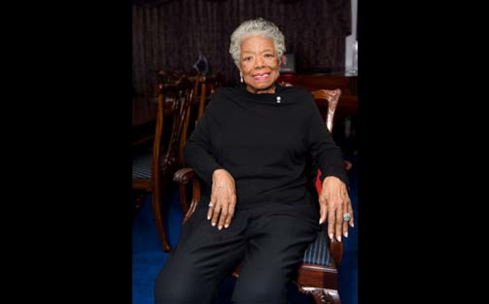 Maya Angelou died on 28 May at the age of 86 at her home in Winston-Salem, North Carolina. Picture: AFP.
