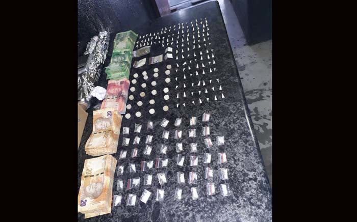 The police Provincial Reaction Team in the Western Cape has conducted search operations focused in Mitchells Plain this weekend and arrested two men for possession of drugs. Picture: @SAPoliceService/Twitter