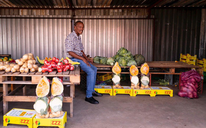 A few metres from the open field where 69 people were gunned down in Sharpeville, is a row of businesses run by youth who wish to grow the township's economy. Picture: Sethembiso Zulu/EWN