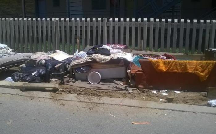 Residents of Alexander left homeless