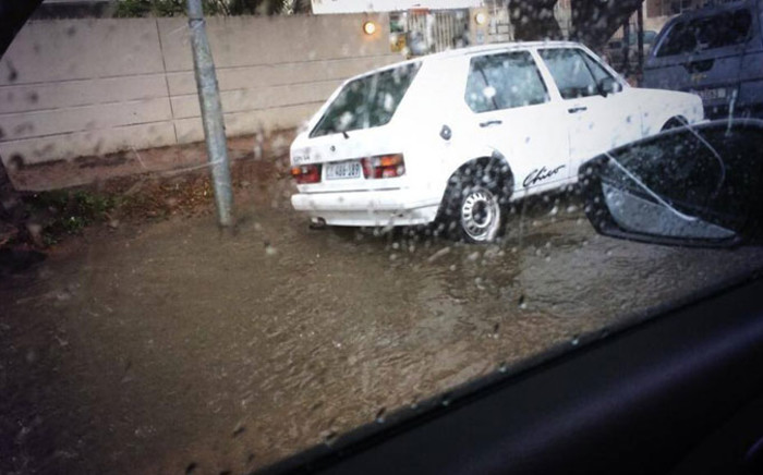 FILE: Several roads are flooded as heavy rain takes over the Mother City. IWitness/EWN