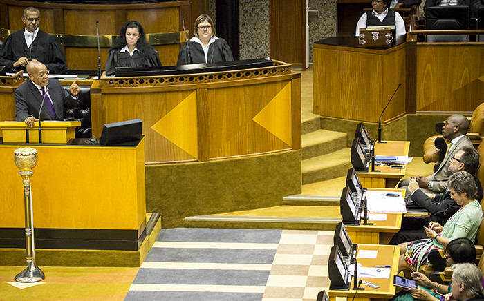 FILE: Members of Parliament are expected to meet today to finalise how Parliament deals with disruptions. Picture: Thomas Holder/EWN.