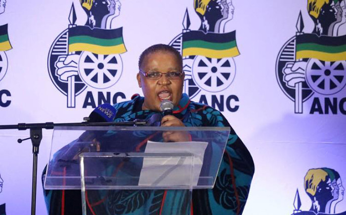 ANCWL general secretary Meokgo Matuba. Picture: ANCWLNational/Facebook