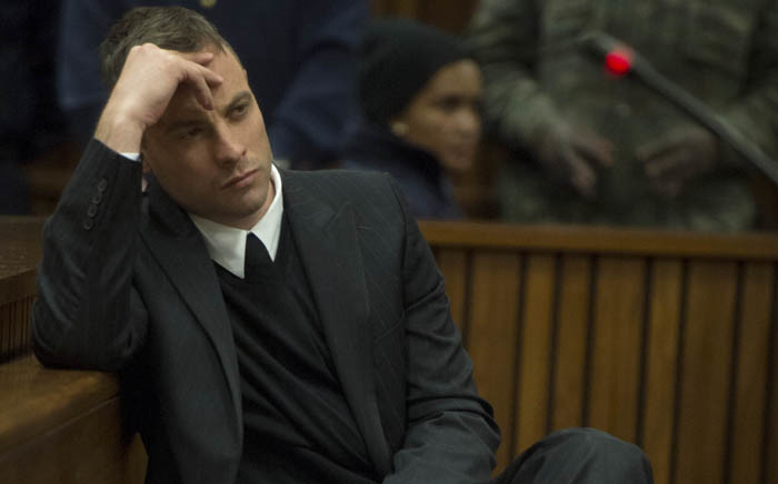Convicted murderer Oscar Pistorius in the North Gauteng High Court on 14 June 2016. Picture: Pool.