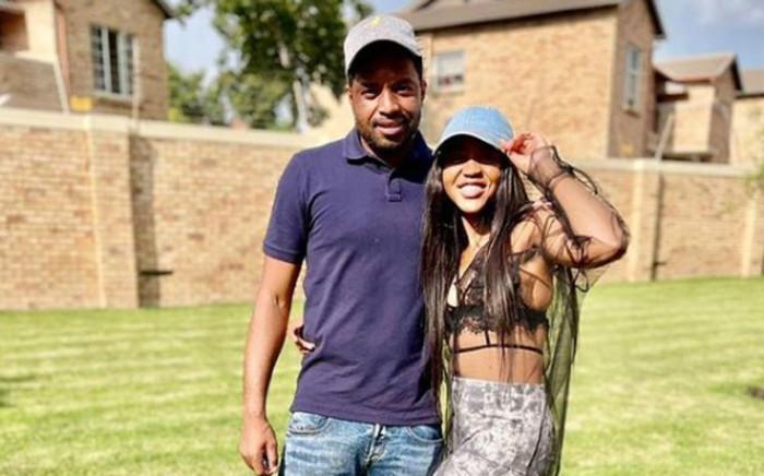 Kaizer Chiefs and Bafana Bafana goalkeeper Itumeleng Khune and his late sister Mapula. Picture: Instagram @mapula_Khune.