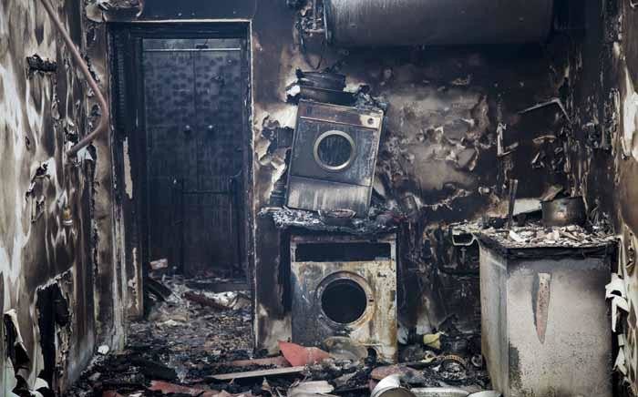 Things we lost in the fire. Remnants of lives. Picture: Thomas Holder/EWN
