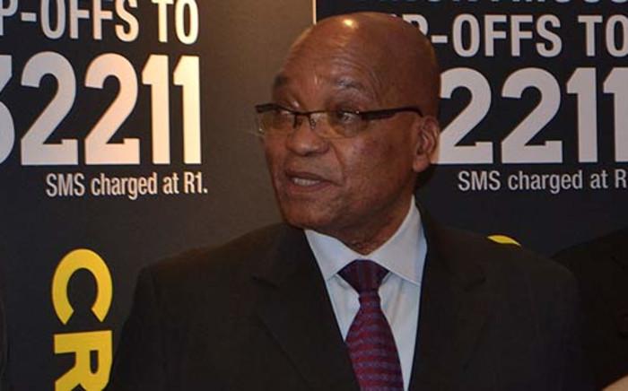 President Jacob Zuma at Talk Radio 702's studios on 23 July 2012. Picture: Sheldon Morais/EWN
