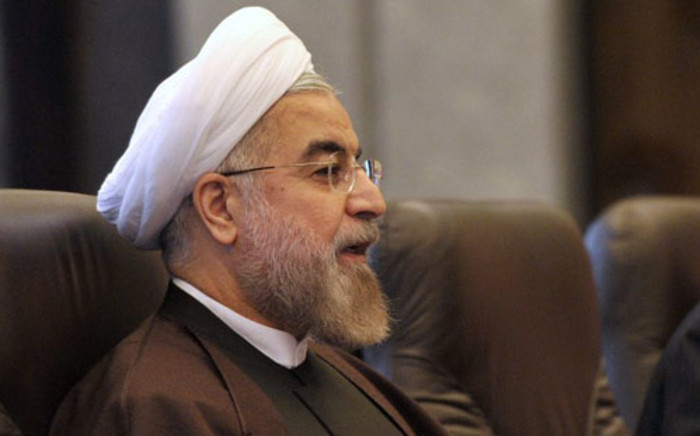 Iranian President Hassan Rouhani. Picture: AFP.