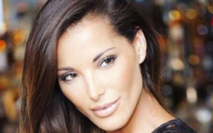 Model Lee-Ann Liebenberg. Picture: Twitter @LeeAnn_L.