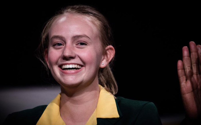South Africa's top matriculant from the class of 2019, Madeleine Dippenaar. Picture: Kayleen Morgan/EWN