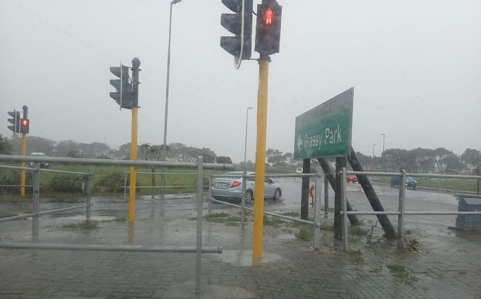 FILE: Heavy rain hit Cape Town on 9 July 2020. Picture: Zunaid Ishmael/Eyewitness News