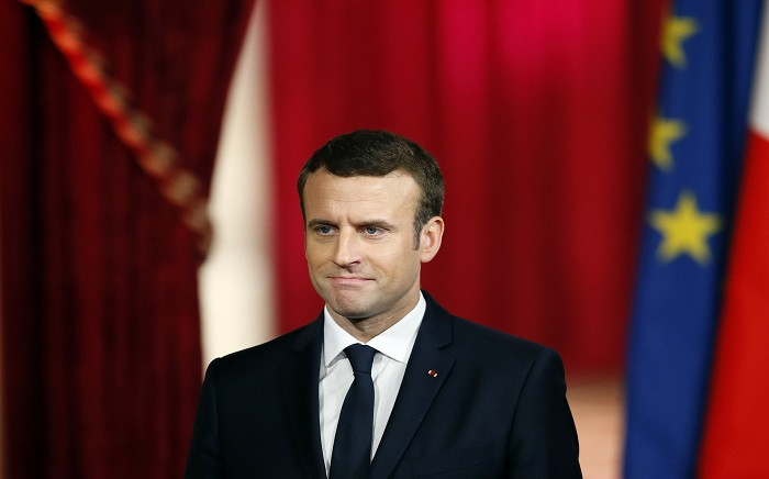 FILE: French President Emmanuel Macron. Picture: AFP.