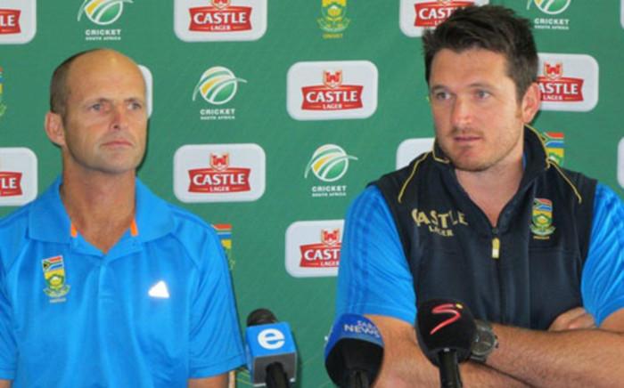 Proteas coach Gary Kirsten and captain Graeme Smith. Picture: Alicia Pillay/EWN