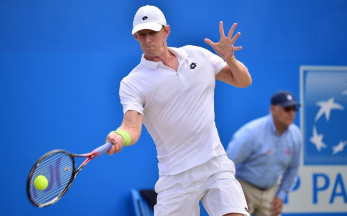 FILE: South Africa's Kevin Anderson. Picture: AFP.