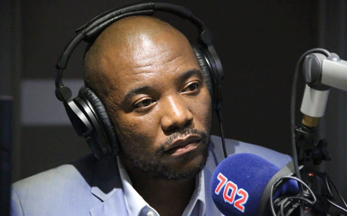 DA leader Mmusi Maimane pictured during an interview on Talk Radio 702 on 30 May 2018. Picture: 702