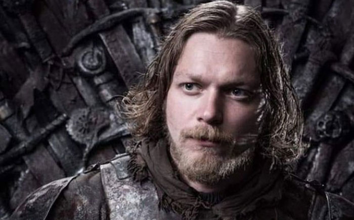 'Game of Thrones' extra Andrew Dunbar. Picture: HBO.