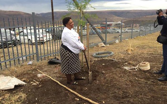 Basic Education Minister Angie Motshekga during Mandela Day celebrations in Mvezo, Eastern Cape on 18 July. Picture: Siyabonga Sesant/EWN.