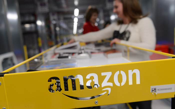 A picture made available on 28 October 2014 shows the Amazon e-trader's new logistics center in Sady, near Poznan, west Poland, 24 October 2014. Picture: EPA/ Jakub Kaczmarczyk