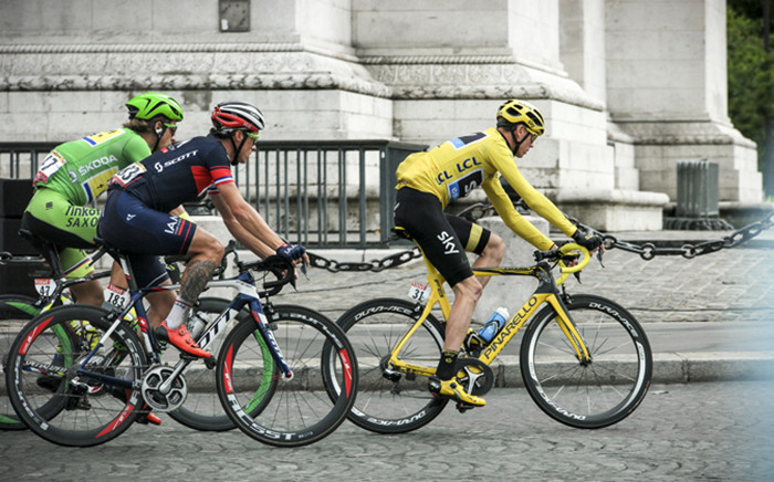 FILE: Christopher Froome in Paris. Picture: Thomas Holder/EWN.