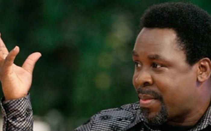 FILE: Nigerian televangelist TB Joshua. Picture: Facebook.