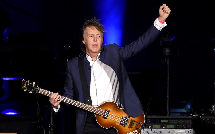 FILE: Musician Paul McCartney performs during Desert Trip at the Empire Polo Field on 15 October 2016 in Indio, California. Picture: Getty Images/AFP.