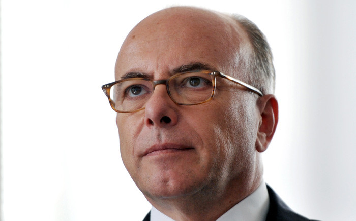 This file photo taken on 01 August 2016 shows Bernard Cazeneuve. Picture: AFP