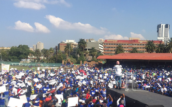 The Reclaim our Freedom rally organised by opposition political parties under the banner of the Freedom Movement at Caledonian Stadium on 27 April 2017. Picture: Pelane Phakgadi/EWN