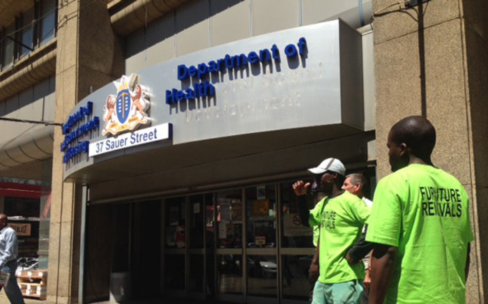 The offices of Gauteng Department of Health. Picture: Vumani Mkhize/EWN.