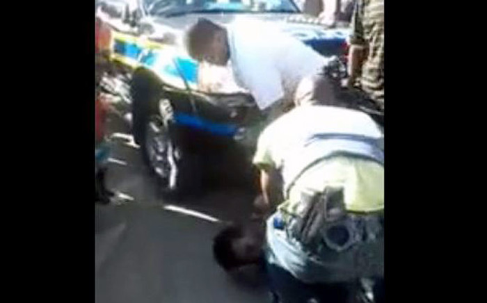 A video which has gone viral, shows three policemen assaulting a 50-year-old woman in Kraaifontein.