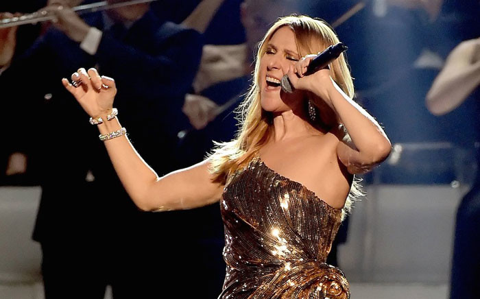 Celine Dion on stage at the 2016 Billboard Music Awards. Picture: @BBMAs via Twitter.