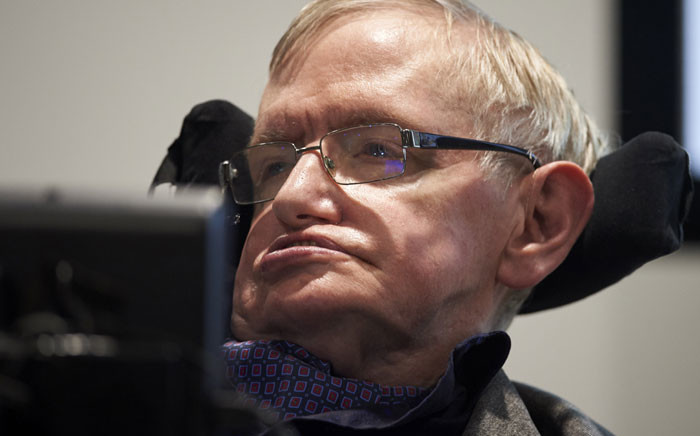 FILE: Stephen Hawking. Picture: AFP