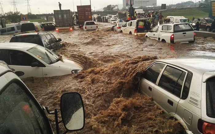 FILE: N3 Gillooly's floods. Picture: Intelligence Bureau SA Facebook page.