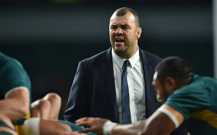 FILE: Wallabies coach Michael Cheika. Picture: AFP