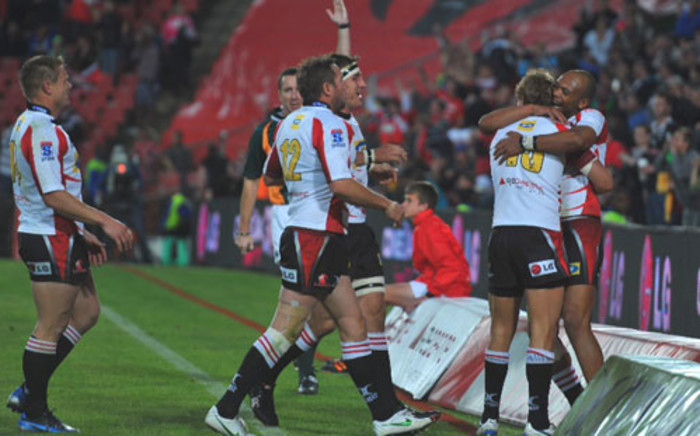 The Lions beat the Sharks 38-28 in an all-South African Super Rugby match on 2 June 2012. Picture: Backpage Media.