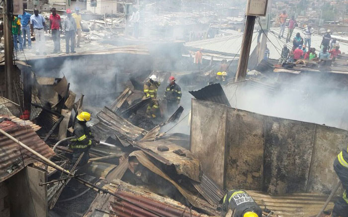 FILE: One person has been killed and two others injured in two separate fires in Johannesburg.