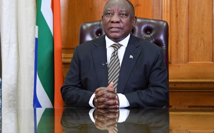 President Cyril Ramaphosa during his address on COVID-19 measures on 16 September 2020. Picture: GCIS