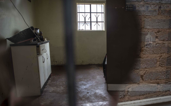 The back room where three of seven bodies were found in a home in Vlakfontein. Picture: Abigail Javier/EWN