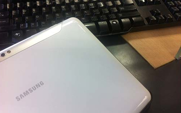Samsung tablet. Picture: Clare Matthes/EWN