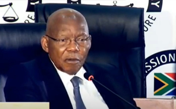 FILE: A screengrab of former Eskom board chairperson Dr Ben Ngubane appearing at the state capture inquiry on 11 September 2020. Picture: SABC/YouTube