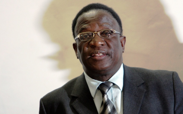 FILE: Emmerson Mnangagwa. Picture: AFP.