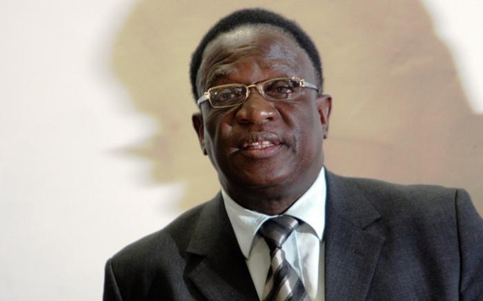 FILE: Vice President Mnangagwa says Zanu-PF remains united. Picture: AFP.