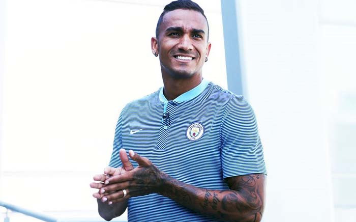 Manchester City have signed defender Danilo from Spanish champions Real Madrid. Picture: Twitter/@ManCity.