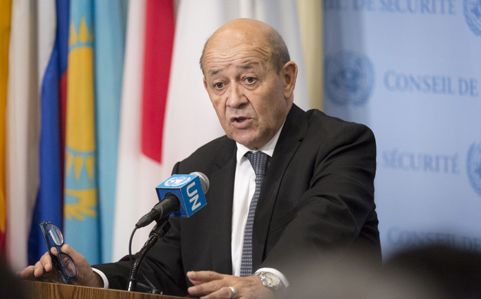 Minister for Foreign Affairs of France Jean-Yves Le Drian. Picture: United Nations Photo.