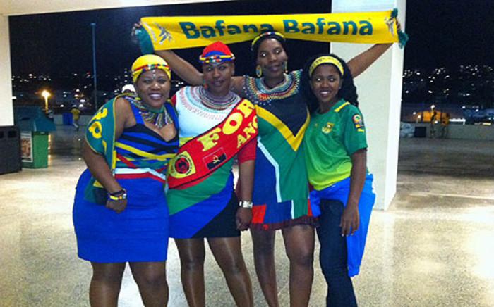 Bafana Bafana fans at the Moses Mabhida Stadium on 23 January 2013. Picture: Lelo Mzaca/EWN
