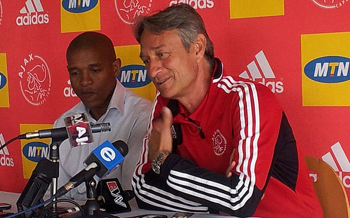 Ajax Cape Town coach Muhsin Ertugral. Picture: Alicia Pillay/EWN