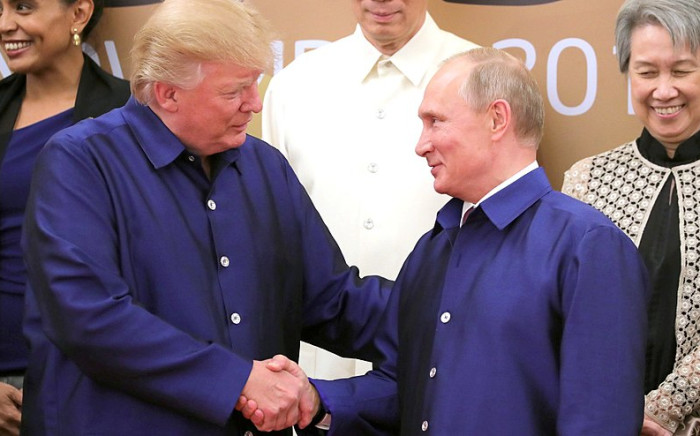FILE: Trump has also drawn attention for his unusually rosy personal assessments of North Korean dictator Kim Jong Un, China's leader Xi Jinping and , Russian strongman President Vladimir Putin. Picture credit: www.kremlin.ru