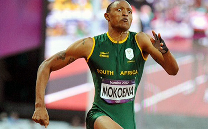 Khotso Mokoena in the men's high jump finals at the Olympic Games on 4 August 2012. Picture: Wessel Oosthuizen/Sascoc